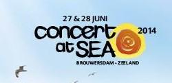 Concert at SEA: Dansen aan zee!