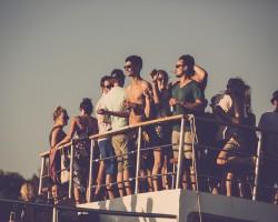 Dimensions: Boat party tickets in de verkoop