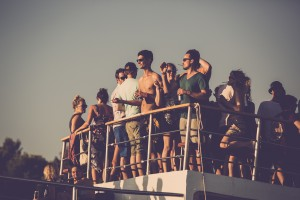Dimensions Festival boat party - credit Dan Medhurst