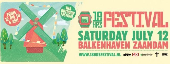 18 uur lang feesten op 18HRS Festival?
