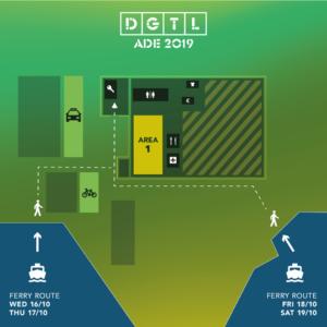 DGTL plattegrond ADE 2019