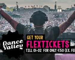 Laatste flextickets Dance Valley
