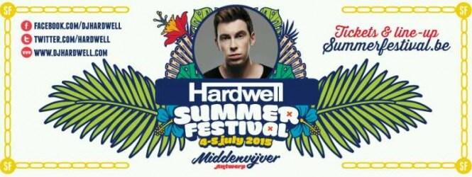 Hardwell op Summerfestival