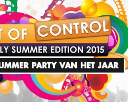 Win: 2×2 tickets voor Out of Control – Totally Summer Edition