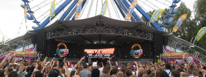 Report: Out of control festival