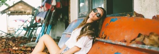 Festivaltrend: Houten zonnebrillen