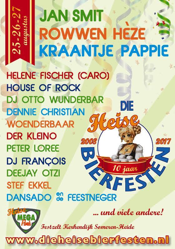 die-heise-bierfesten-lineup