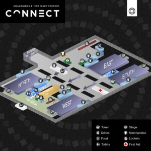 Plattegrond Connect 2019