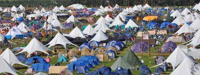 Festival camping paklijst