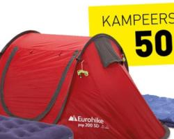 Complete festival campingset voor €50 bij Perrysport!
