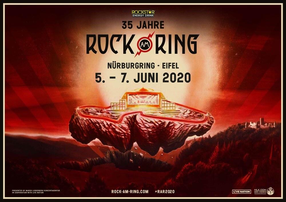 Rock Am Ring 2020 Tickets Line Up 5 Tm 7 Juni Nürnburgring