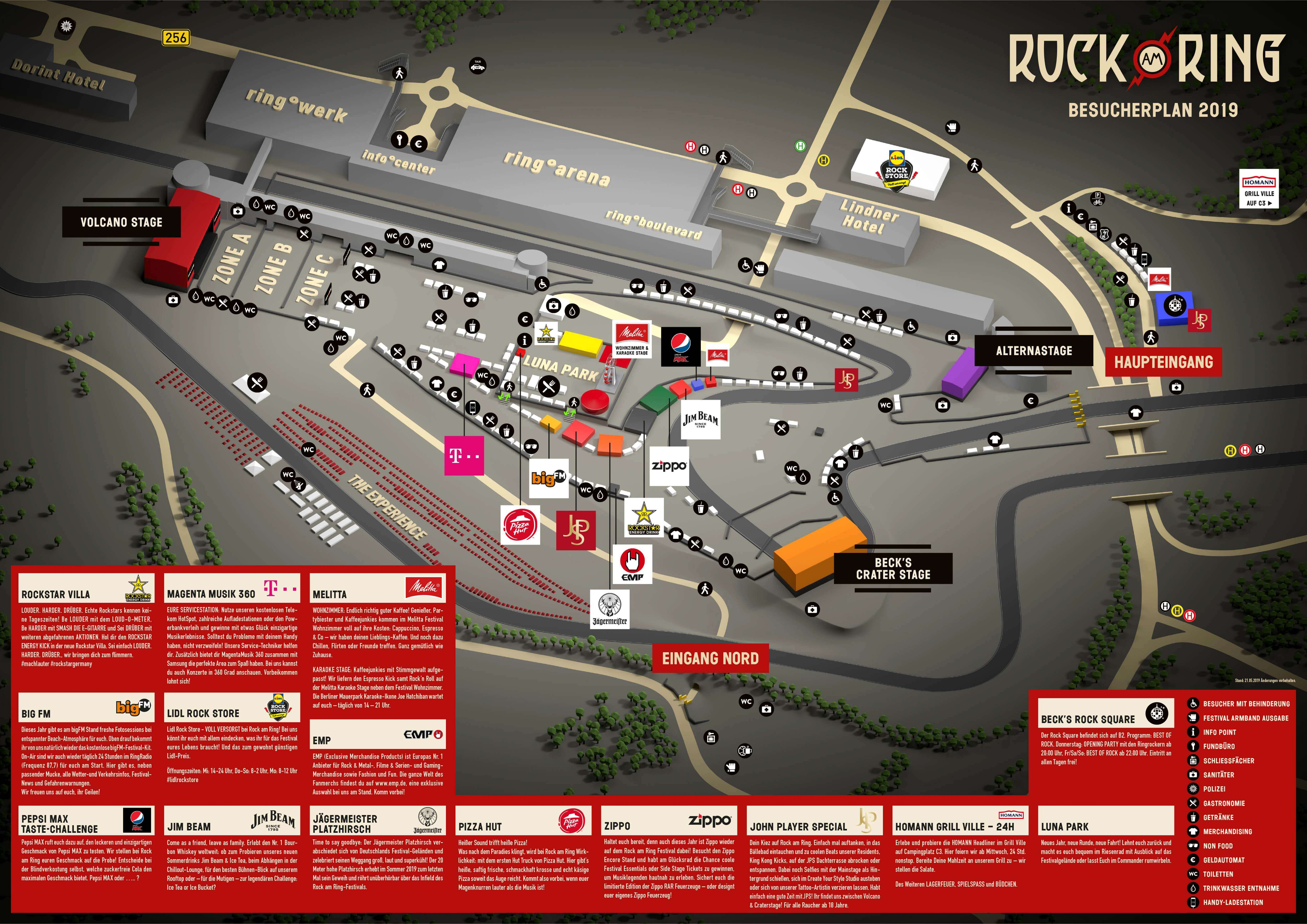 Rock Am Ring 2020 Tickets Line Up 5 T M 7 Juni Nurnburgring