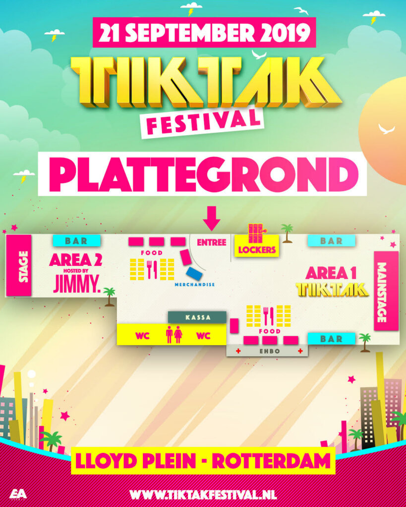 Tiktak Festival plattegrond