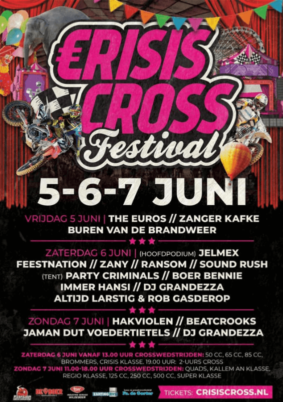 De 5 Mei Tent Tickets, line up & info