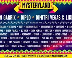 Volledige line-up Mysteryland bekend