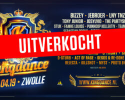 Kingdance 2019 is uitverkocht!