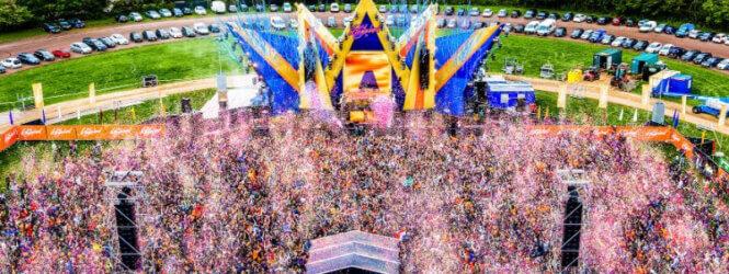 Gaat Kingsland Festival opnieuw het wereldrecord confetti schieten verbreken?