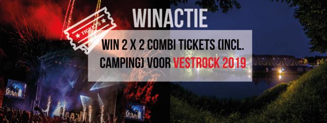 Winactie: 2 x 2 combi tickets voor Vestrock