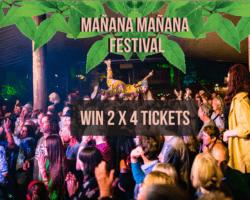 Winactie Mañana Mañana Festival!