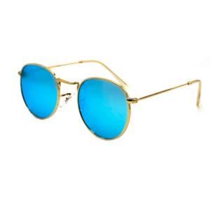 Zonnebril Oval Blue