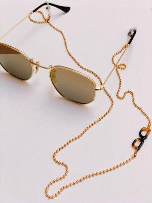 Zonnebril Ketting Gold Glasses