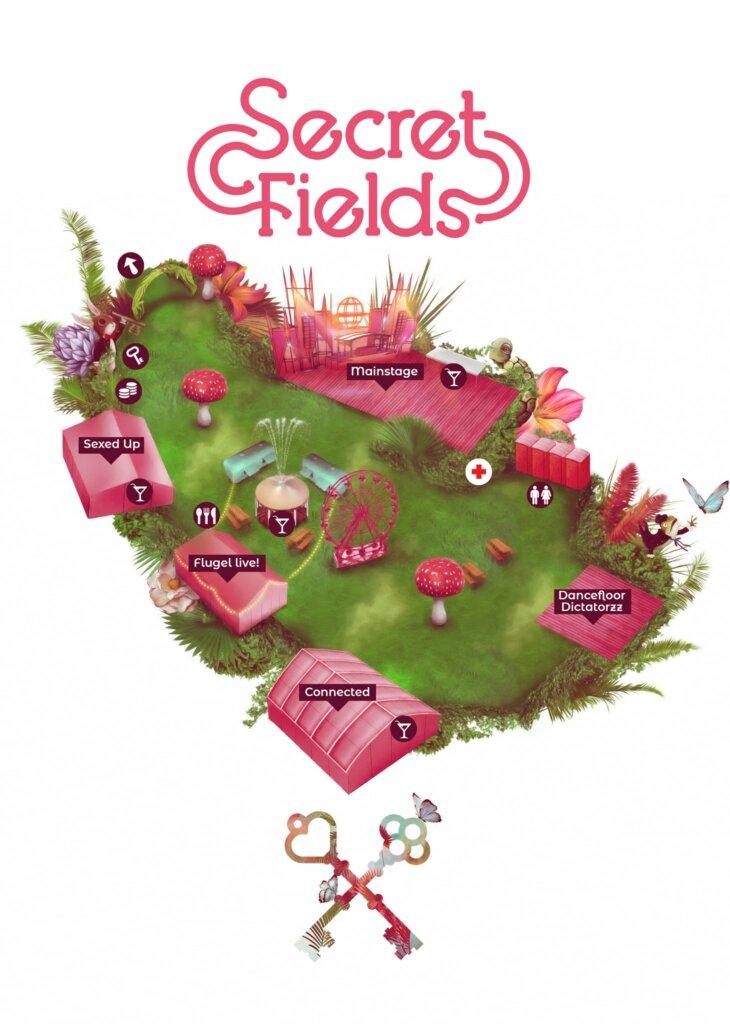 Secret fields plattegrond 2019
