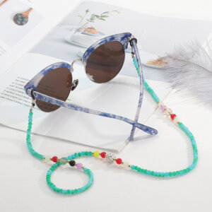 Blue Pearl Zonnebril Ketting