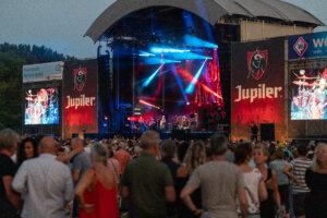 Jupiler stage @ Parkpop