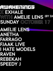 ADE: Awakenings x Exhale x Amelie Lens