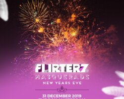 Winactie Flirterz New Years Eve 5×2 tickets