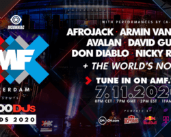 AMF presenteert Top 100 DJs Awards 2020
