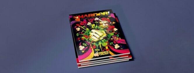 Zwarte Cross-glossy Harder! komt landelijk in tijdschriftenschap